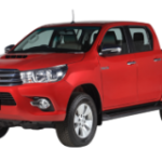 Toyota Hilux Double Cabin Bali-Crimso-Red